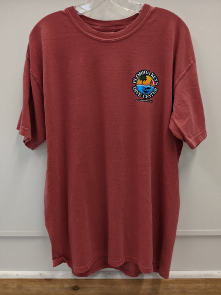 Crimson FKDC Logo Short Sleeve Shirt