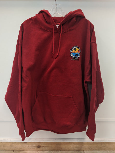 Antique Red FKDC Logo Hoodie