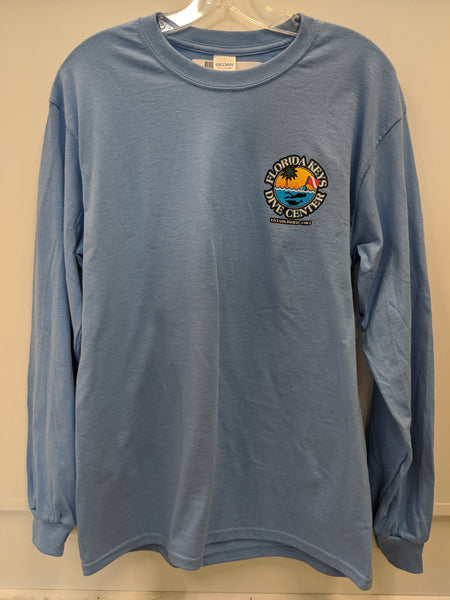 Carolina Blue FKDC Logo Long Sleeve Shirt