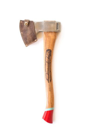 """Brave Feather"" Camp Axe"