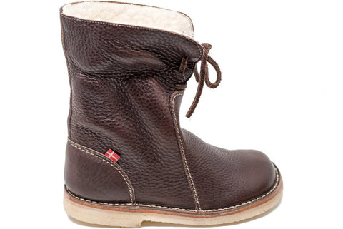 Århus Shearling Lined Boot (Chocolate)