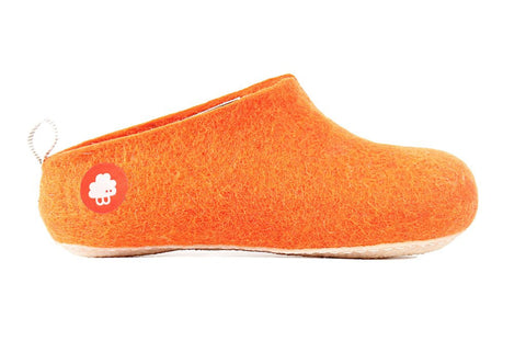 Baabuk Gus Orange Slipper