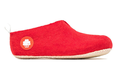 Baabuk Gus Red Slipper