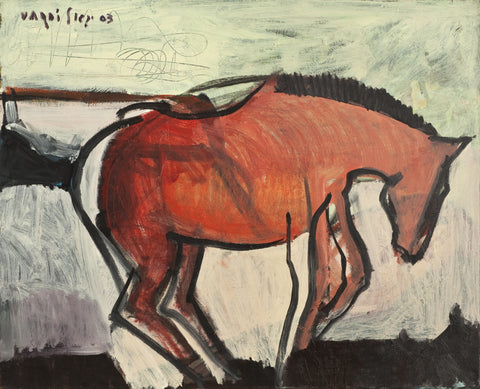 """A Horse""  by Igal Vardi SOLD!"