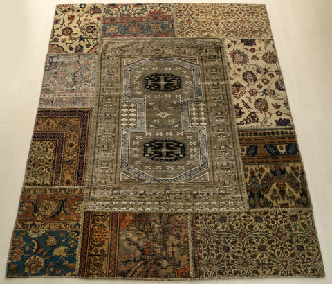 Middle Eastern Royalty Rug - 5′10″ × 7′3″