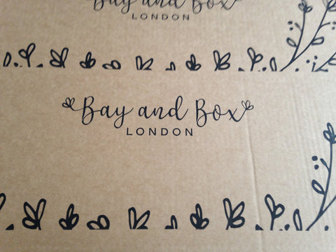 Bay and Box packaging