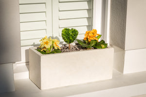 Miami White - Window Boxes