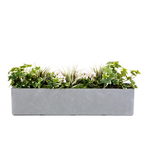Artificial planted window box - Bay and Box