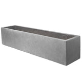 Large window box in Parisian Grey - Bay and Box