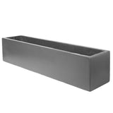 Large window box in Hampstead Lead Grey - Bay and Box