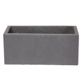 Small window box in Hampstead Lead Grey - Bay and Box