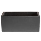 Small window box in Amalfi Black - Bay and Box