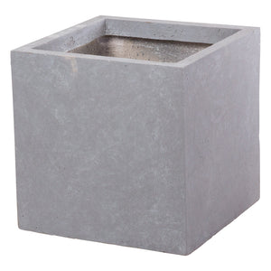 Cubist planter in Parisian Grey - Bay and Box