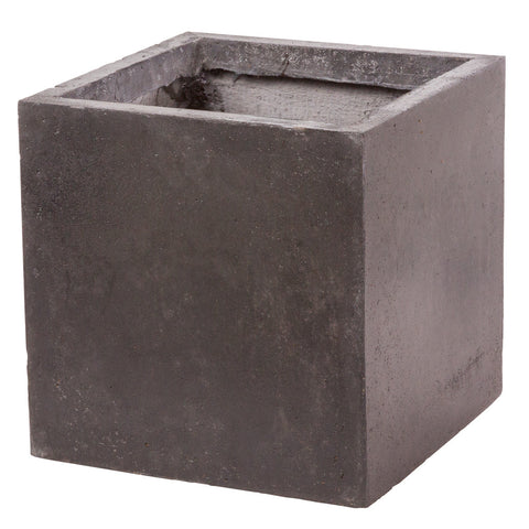 Cubist planter in Amalfi Black - Bay and Box