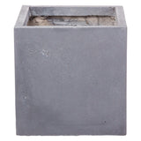 Cubist planter in Hampstead Lead Grey - Bay and Box