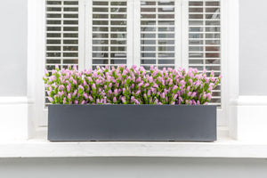 Pink Panther - artificial window box