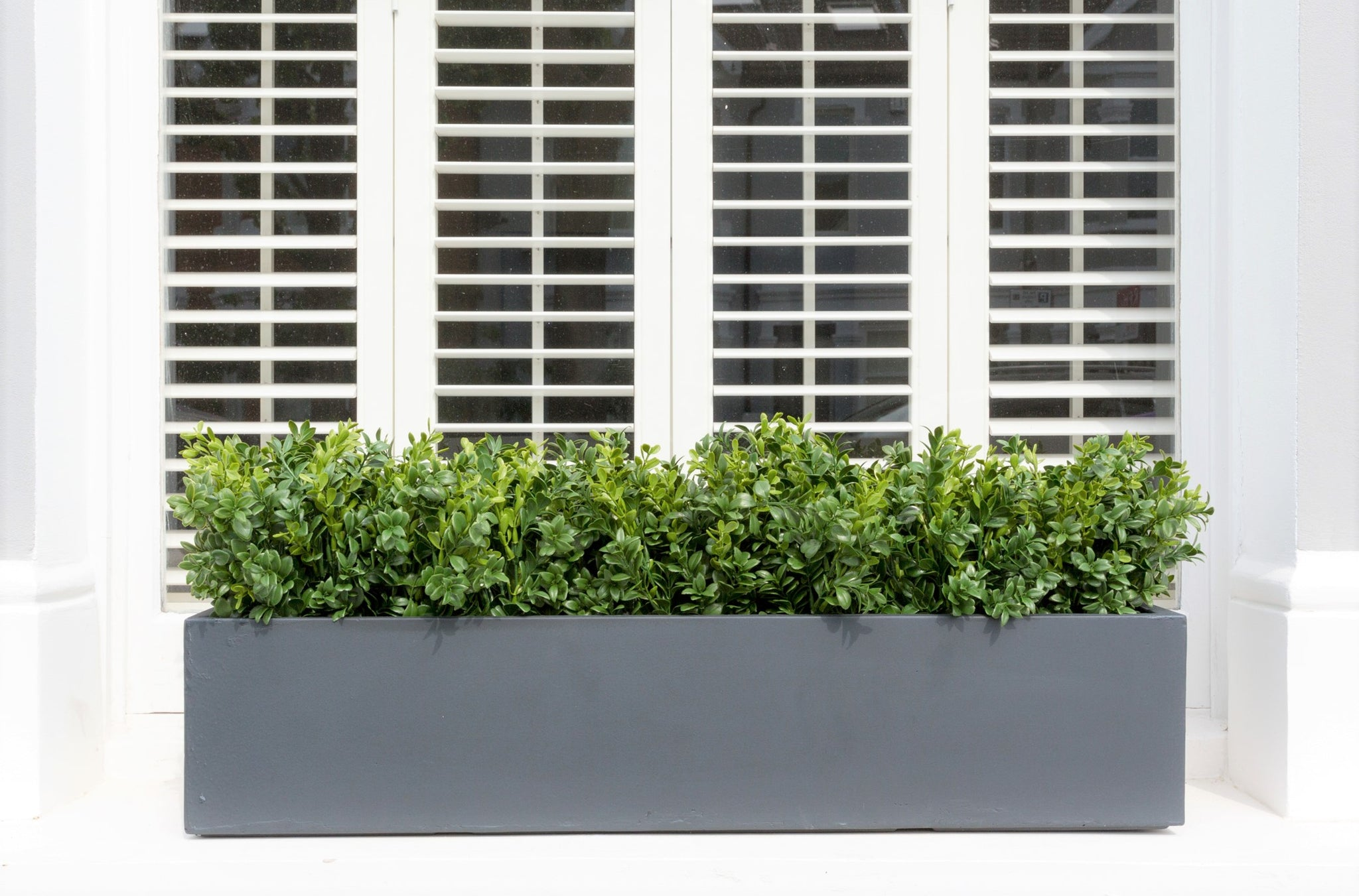The Chelsea Artificial Window Box Bay And Box