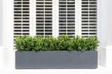 artificial hedge window box