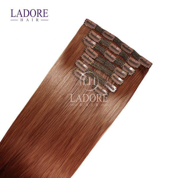Autumns Spice  (#30) 8-Piece Clip-In Extensions