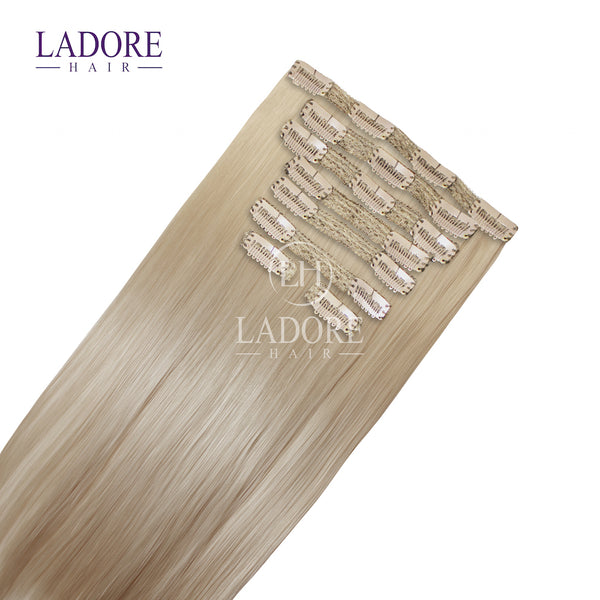 Beach Bunny Blonde (#613) 8-Piece Clip-In Extensions