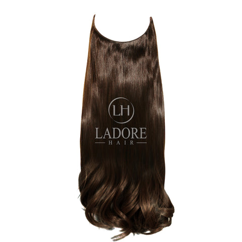 Brunette Lover (#2) Transparent Wire Extensions