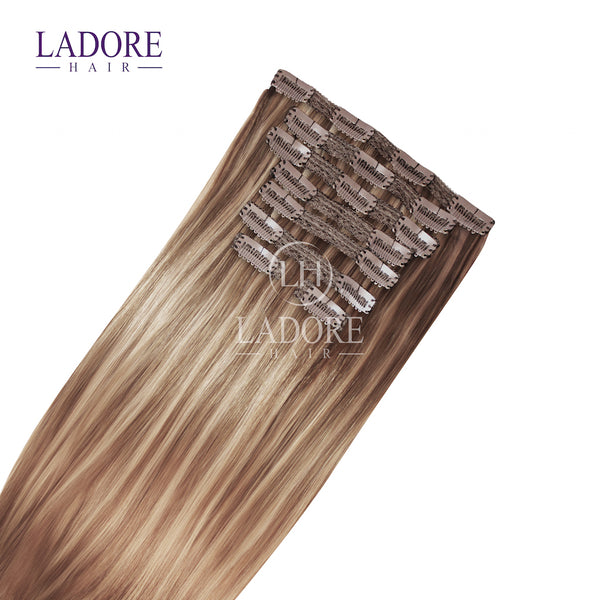 Dolce  (#8-18) 8-Piece Clip-In Extensions