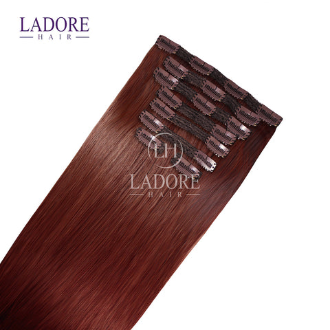 Girl on Fire (#33) 8-Piece Clip-In Extensions
