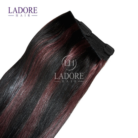 Love Affair (#1B/33)  One-Piece Clip-In Extensions Extensions