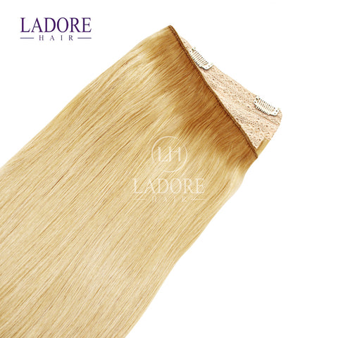 Rich Girl Blonde (#20) One-Piece Clip-In Extensions