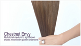 Chestnut Envy (#6) Invisible Tape-In Extensions