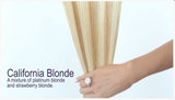 California Blonde (#613/27) Invisible Tape-In Extensions