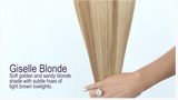 Giselle Blonde (#14/24) Invisible Tape-In Extensions