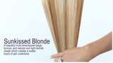 Sunkissed Blonde (#10/24) Invisible Tape-In