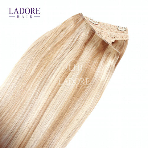 California Blonde (#613/27) One-Piece Clip-In Extensions Extensions