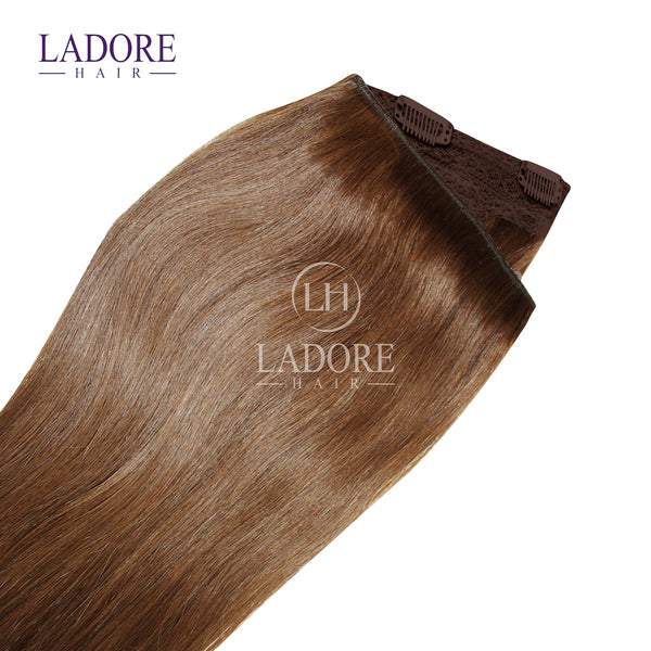 Chestnut Envy (#6) One-Piece Clip-In Extensions
