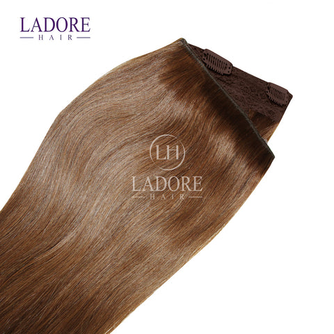 Chestnut Envy (#6) One-Piece Clip-In Extensions Extensions