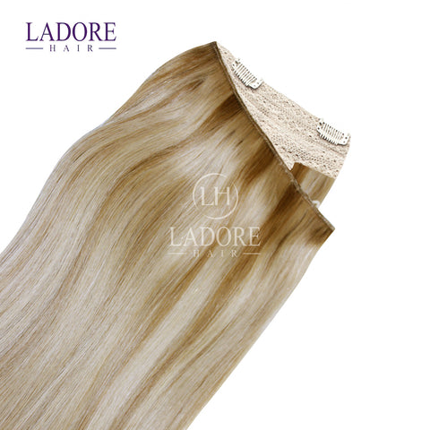 Giselle Blonde (#14/24) One-Piece Clip-In Extensions Extensions