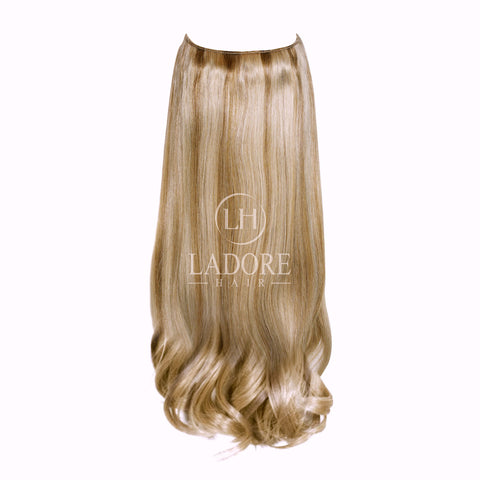 Giselle Blonde (#14/24) Transparent Wire Extensions