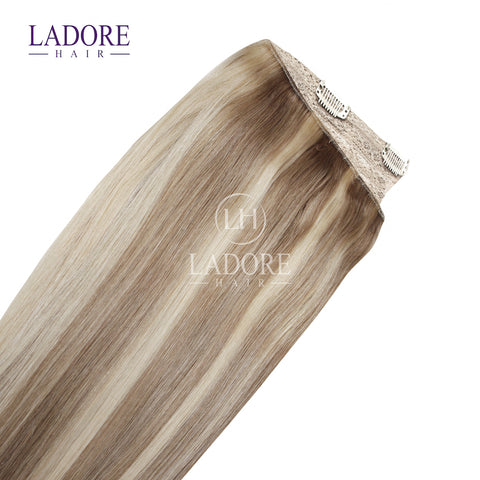 Luvualatte (#18-22) One-Piece Clip-In Extensions Extensions