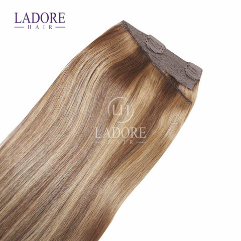 Toffee Lover (#6-10) One-Piece Clip-In Extensions Extensions