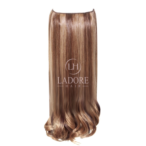 Toffee Lover (#6-10) Transparent Wire Extensions