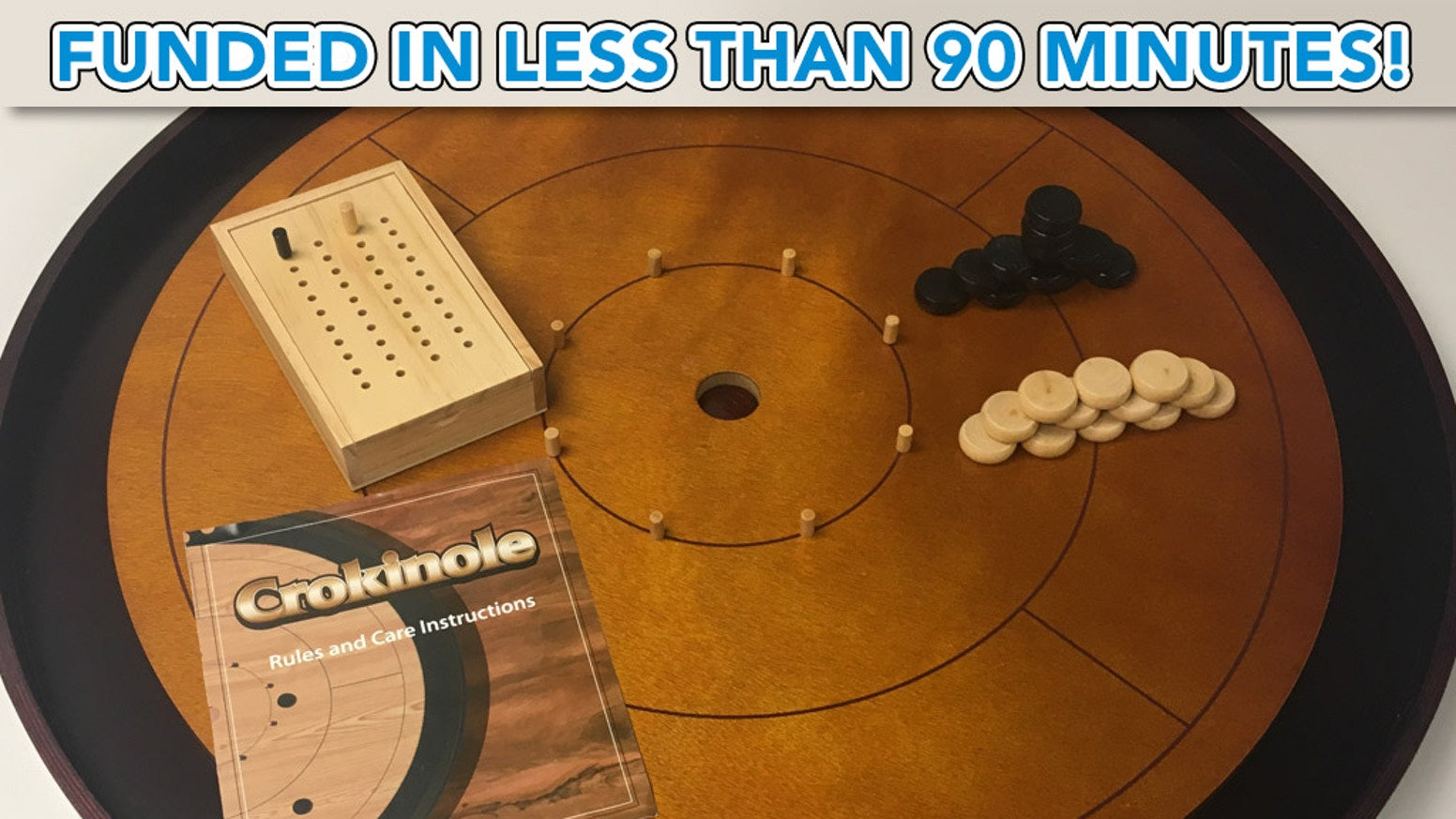 CROKINOLE: Join 1,000+ Backers Who Have Pledged Over $121K!!! [Our New Kickstarter]