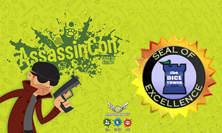 "VIDEO: AssassinCon Game Review by Tom Vasel (HOLY ""SEAL OF EXCELLENCE"" AWARD!!!)"