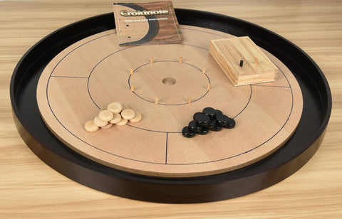 Crokinole Tournament Edition Board & Accessories