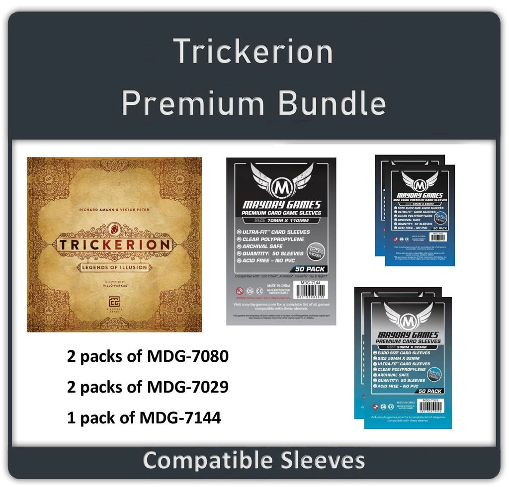 """Trickerion: Legends of Illusion"" Card Sleeve Kit"