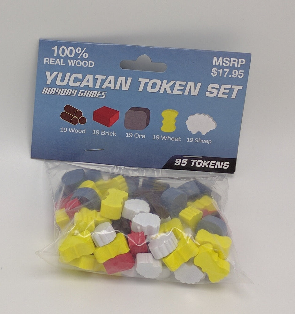 Yucatan Token Set -  - Mayday Games - 1
