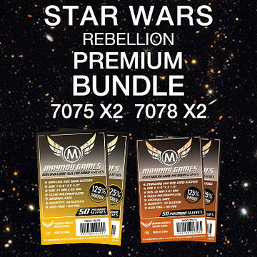"""Star Wars Rebellion"" Card Sleeve Bundle - Premium Protection - Mayday Games - 1"