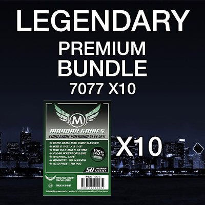 """Legendary"" Card Sleeve Bundle - Premium Protection - Mayday Games - 1"