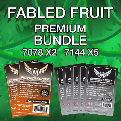 """Fabled Fruit"" Card Sleeve Bundle - Premium Protection - Mayday Games - 1"