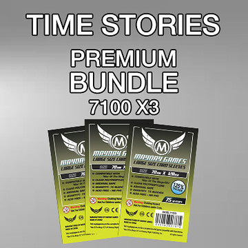 """Time Stories"" Card Sleeve Kit - Standard Protection - Mayday Games"